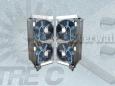 Chauffage de conduit d'air de ventilation avec système de ventilation 440V-10kW