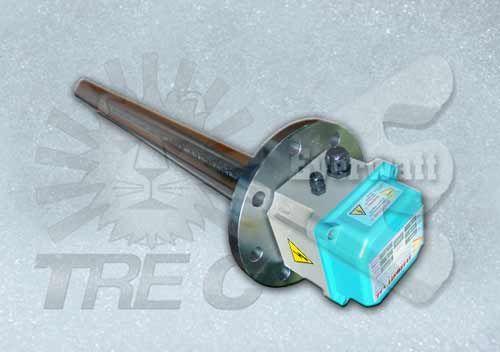 Réchauffeur monotube à tuyau unique +IP55+Thermostat