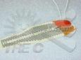 Résistances plates en caoutchouc de silicium et en mylar