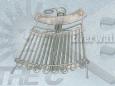 ATEX-Réchauffeur de bande d'air blindé-gainé