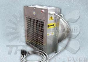 Patin de thermorégulation et réchauffeurs complets
