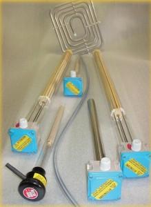 Appareils de chauffage galvaniques à simple tube pour fluides corrosifs