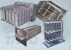 Batteries électriques à fil nu pour chauffage d'air