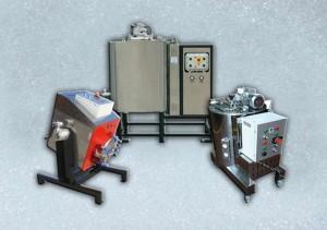 Cuves chauffantes d'huile diathermique