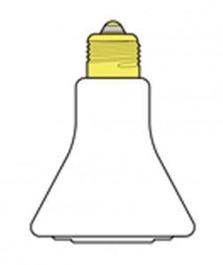 Lampes chauffantes céramiques infrarouges
